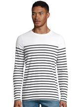 Men´s Long Sleeve Striped T-Shirt Matelot